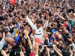 Lewis Hamilton has had some eye-catching successes (David Davies/PA)