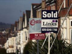 UK house prices hit a new record high of £227,826 on average in October after annual growth in property values reached its fastest rate since 2015, Nationwide Building Society said (Yui Mok/PA)