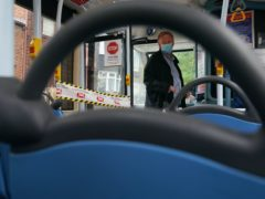 A reduction in bus journeys has led to fears over the impact of passengers switching from public transport to cars due to the coronavirus pandemic (Owen Humphreys/PA)
