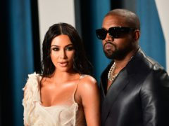 Kim Kardashian West has revealed husband Kanye gave her a hologram of her late father for her 40th birthday (Ian West/PA)