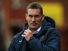 Exeter manager Matt Taylor will have on-loan goalkeeper Jokull Andresson at his disposal (Mark Kerton/PA)