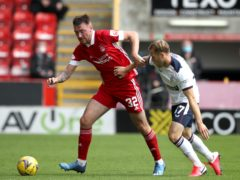 Aberdeen are hoping Ryan Edmondson (left) will be fit to face Celtic.