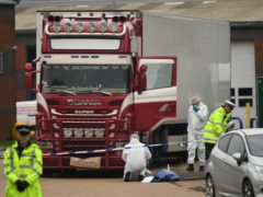 39 migrants were found suffocated in the lorry in October 2019 (Stefan Rousseau/PA)