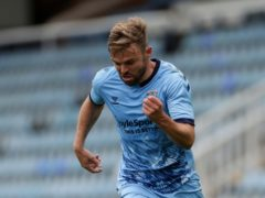Matty Godden was on target for Coventry (Bradley Collyer/PA)