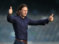 Wycombe manager Gareth Ainsworth has backed his team to avoid relegation (Andrew Matthews/PA)