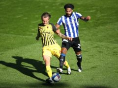 Izzy Brown, right, is close to a return for Sheffield Wednesday (Tim Goode/PA)