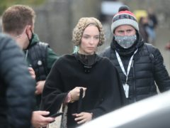 Jodie Comer said she had 'Mixed emotions' after wrapping filming on Sir Ridley Scott's historical epic The Last Duel (Niall Carson/PA)
