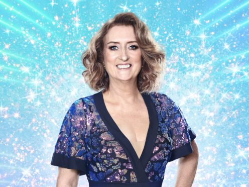 Jacqui Smith on Strictly Come Dancing (Ray Burmiston/BBC/PA)