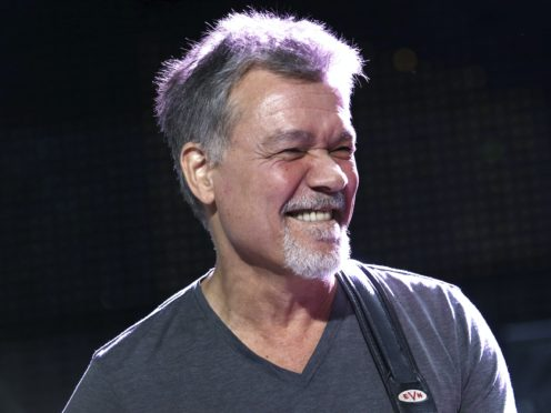 The world of music has been paying tribute to Eddie Van Halen (AP)