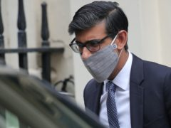 Rishi Sunak leaves Downing Street (Aaron Chown/PA)