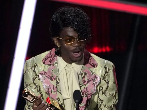 Lil Nas X was among the winners at the 2020 Billboard Music Awards (Chris Pizzello/AP)
