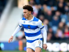 QPR's Luke Amos will miss the rest of the season with a serious knee injury (Daniel Hambury/PA)