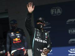 Lewis Hamilton is the man to catch (Jose Sena Goulao/AP)