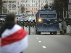 Mass protests have rocked Belarus for more than two months (AP)