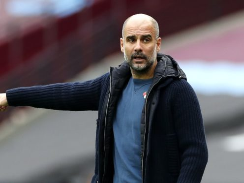 Manchester City manager Pep Guardiola is the coaching choice of a Barcelona presidential candidate (Paul Childs/PA)