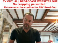 Actor Danny Dyer on BBC Breakfast (BBC/PA)