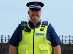 Police community support officer Graham Dinning died after testing positive for coronavirus (Northumbria Police/PA)