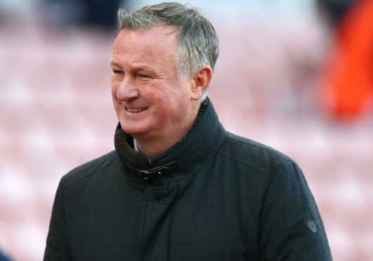 Michael O'Neill is confident Stoke are making progress (Barrington Coombs/PA)