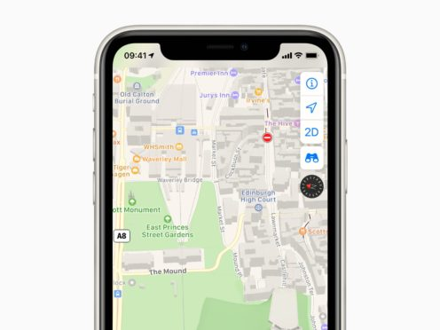 Apple Maps (Apple/PA)