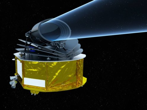 Artist's impression of Ariel (ESA/STFC RAL Space/UCL/UK Space Agency/ ATG Medialab)