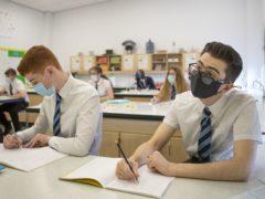 Schools are 'not a significant area' for spreading coronavirus, John Swinney has said (Jane Barlow/PA)