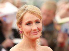 JK Rowling (Dominic Lipinski/PA)