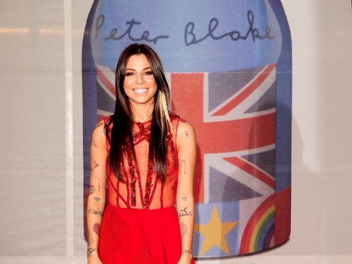 Christina Perri arriving for the 2012 Brit Awards at The O2 Arena, London (PA)