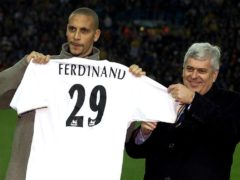 Rio Ferdinand became the world's most expensive defender when he signed for Leeds (Phil Noble/PA).