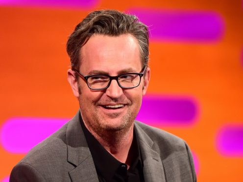 Matthew Perry (Ian West/PA)