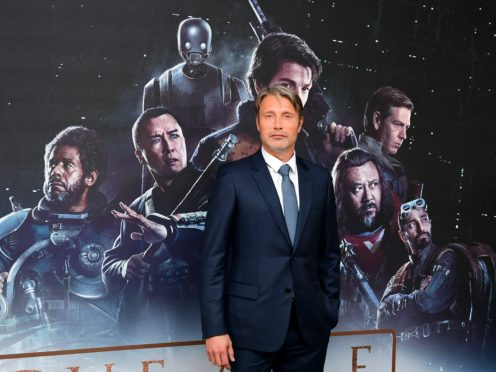 Mads Mikkelsen stared in Rogue One: A Star Wars Story (Ian West/PA)