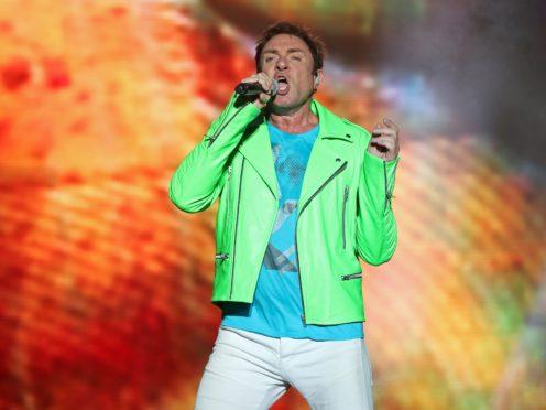 Simon Le Bon of Duran Duran (Niall Carson/PA)