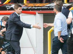 Rangers manager Steven Gerrard (left) has full respect for Derek McInnes' Aberdeen side (Jeff Holmes/PA)