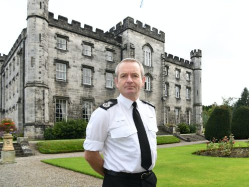 Chief Constable Iain Livingstone said it is crucial the culture of Police Scotland is welcoming and inclusive to all (Police Scotland/PA)