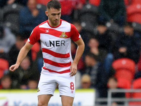 Ben Whiteman scored for Doncaster in their win over Blackpool (Dave Howarth/PA)