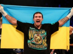 Oleksandr Usyk has won all 18 of his professional contests (Nick Potts/PA)