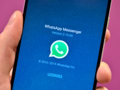 A new storage management tool aims to make it simpler to identify, review and bulk-delete content from WhatsApp (Nick Ansell/PA)