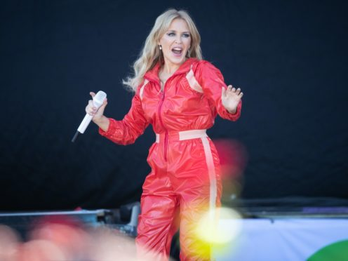 Kylie Minogue took to the Pyramid Stage in 2019 (Aaron Chown/PA)