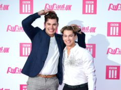 Curtis and AJ Pritchard (Ian West/PA)