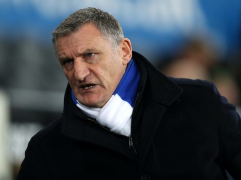 Tony Mowbray believes Blackburn's athleticism is leading to opponents' red cards (David Davies/PA)