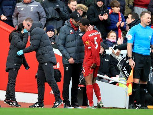 Liverpool manager Jurgen Klopp remains optimistic over Georginio WIjnaldum's contract issue (Peter Byrne/PA)