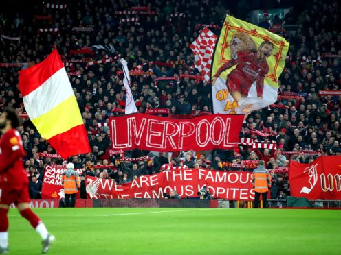 Anfield may see fans soon (Nick Potts/PA)