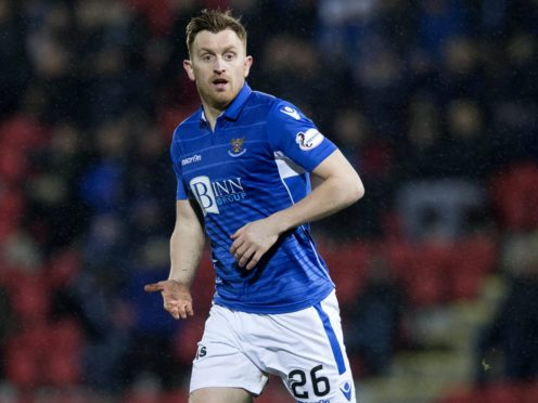 St Johnstone's Liam Craig is looking forward to facing Motherwell again (Jeff Holmes/PA)