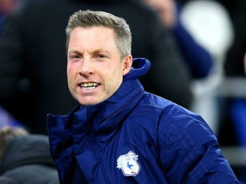 Neil Harris admitted there were a 'couple' of niggles in his squad (Nigel French/PA)