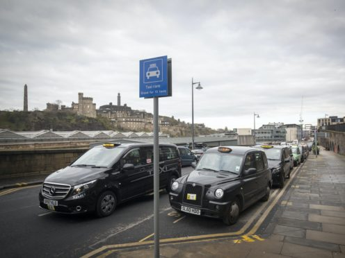 Richard Leonard has written to the First Minister about the plight of Scotland's taxi drivers (Jane Barlow/PA)
