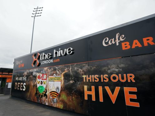 Barnet will welcome MK Dons to The Hive on Sunday (John Walton/PA)