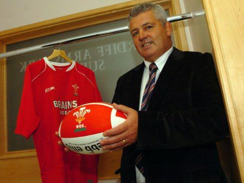 Warren Gatland was unveiled as Wales' new head coach on November 9, 2007 (James Davies/PA)