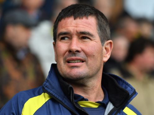 New Mansfield boss Nigel Clough watched from the stands at Sunderland (Anthony Devlin/PA)