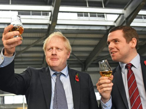 Prime Minister Boris Johnson made a mistake by criticising the prospect of another national lockdown, Scottish Conservative leader Douglas Ross has said (Stefan Rousseau/PA)