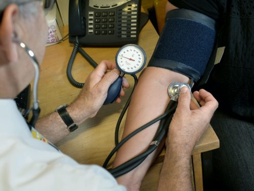 High blood pressure in midlife 'linked to increased brain damage in later life' (Anthony Devlin/PA)