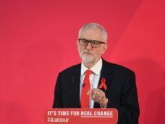 Jeremy Corbyn (Joe Giddens/PA)